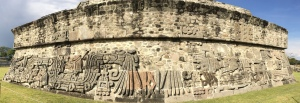 The Temple of the Feathered Serpent - the high temple of Xochicalco.