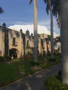 Hacienda Vista Hermosa - as seen from inside the center courtyard.